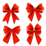 Set of bows Royalty Free Stock Photo