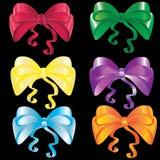 Set of bows Stock Photo
