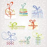 Set boxes. Set with boxes.Vector illustration Royalty Free Stock Image