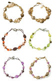 A set of braceletes Royalty Free Stock Photography