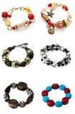 A set of braceletes Royalty Free Stock Photo