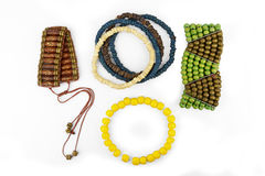 Set of bracelets Stock Photos