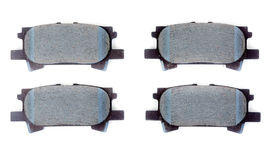 Set of brake pads Stock Image