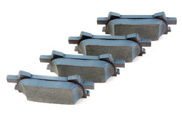 Set of brake pads Stock Photos