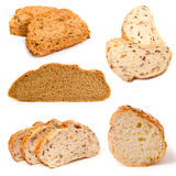 Set of a  bread Royalty Free Stock Photography