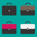 Set of briefcases Royalty Free Stock Image