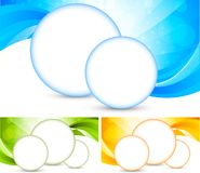Set of bright background Royalty Free Stock Images