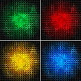 Set of bright backgrounds (eps 10). Set of bright backgrounds with stars (eps 10 Royalty Free Stock Photos