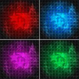 Set of bright backgrounds (eps 10). Set of bright backgrounds with stars (eps 10 Royalty Free Stock Photo