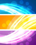 Set of bright banners Royalty Free Stock Photo