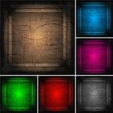 Set of bright frameworks (eps 10). Set of bright multi-coloured frameworks (eps 10 Stock Photography