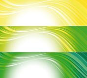Set of bright technical banners Stock Photo