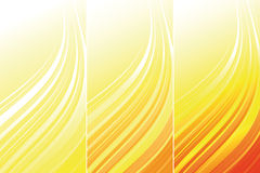Set of bright technical banners Stock Image