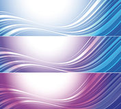 Set of bright technical banners Stock Images