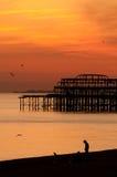 Set Brighton-Sun Lizenzfreie Stockfotos
