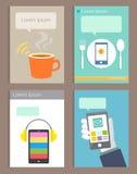 Set of Brochure Design modern life style Templates Stock Photos