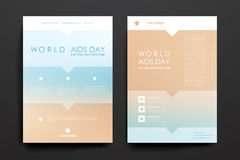 Set of brochure, poster design templates in World Stock Photography