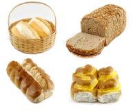 Set Brot Stockfoto