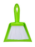 Set of brush and dustpan Stock Photos