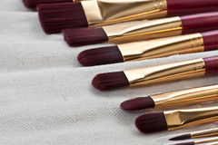 Set of brushes Royalty Free Stock Photography