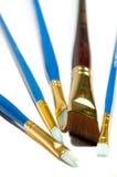 Set of brushes Stock Photos