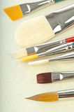 Set of brushes Royalty Free Stock Images