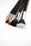 Set of brushes Stock Images