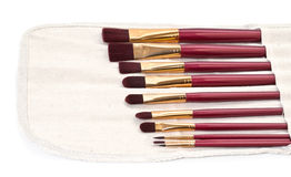 Set of brushes for drawing Royalty Free Stock Photography