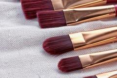 Set of brushes Stock Photography
