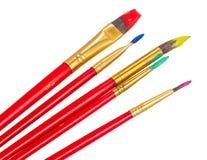 Set of brushes Royalty Free Stock Photos
