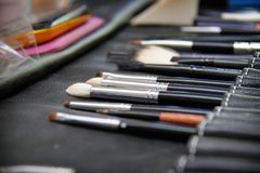 A set of brushes for royalty free stock photo