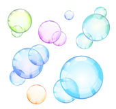 Set of bubble Royalty Free Stock Photography