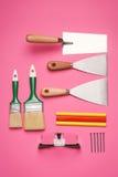 Set budów narzędzia Zdjęcie Stock