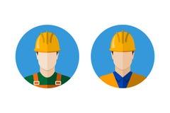 Set budowniczy ikony Zdjęcie Stock