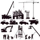 Set budowy maszyneria Obraz Stock