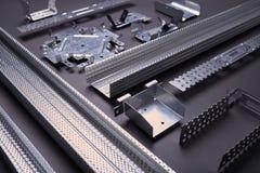 Set budynków elementy wyposażenia i profile Zdjęcie Stock