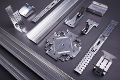 Set budynków elementy wyposażenia i profile Obraz Stock