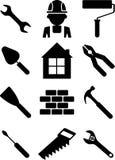 Set budynków narzędzia 01 ilustracji