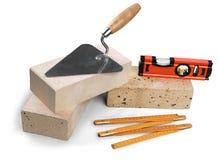 Set budynków narzędzia odizolowywający dalej instrumenty i Obraz Royalty Free