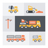Set of building elements icons. Stock Photos