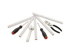 Set of building tools Royalty Free Stock Photo