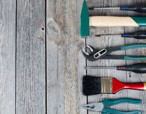 Set building tools Royalty Free Stock Photography