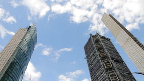 Set of buildings timelapse. stock video footage