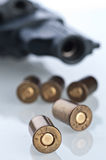 Set of bullets Royalty Free Stock Photos