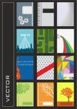Set bunte Abbildungen Lizenzfreie Stockbilder