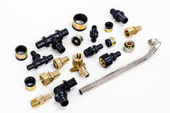 A set of bushings and bolts Stock Image