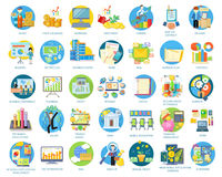 Set of Busines Icons Stock Images