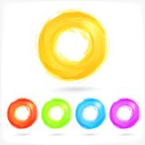 Set of Business Abstract Circle icons. Stock Images