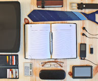 Set of business accessories Royalty Free Stock Photography