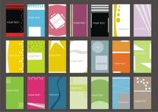 Set business card Stock Image
